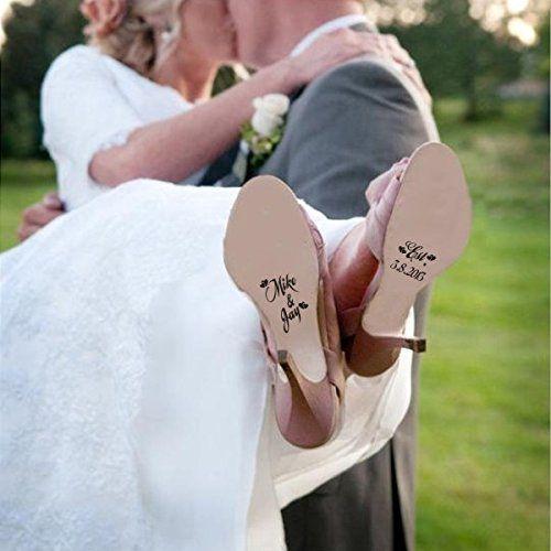 Brauch Hochzeits-Schuh-Decals - Name und Datum der Hochze... http://www.amazon.de/dp/B012ZMVBQW/ref=cm_sw_r_pi_dp_0Ympxb1SSX440