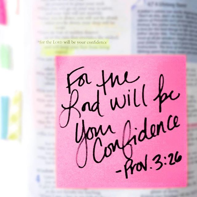 The Lord will be my confidence .                                                                                                                                                                                 More