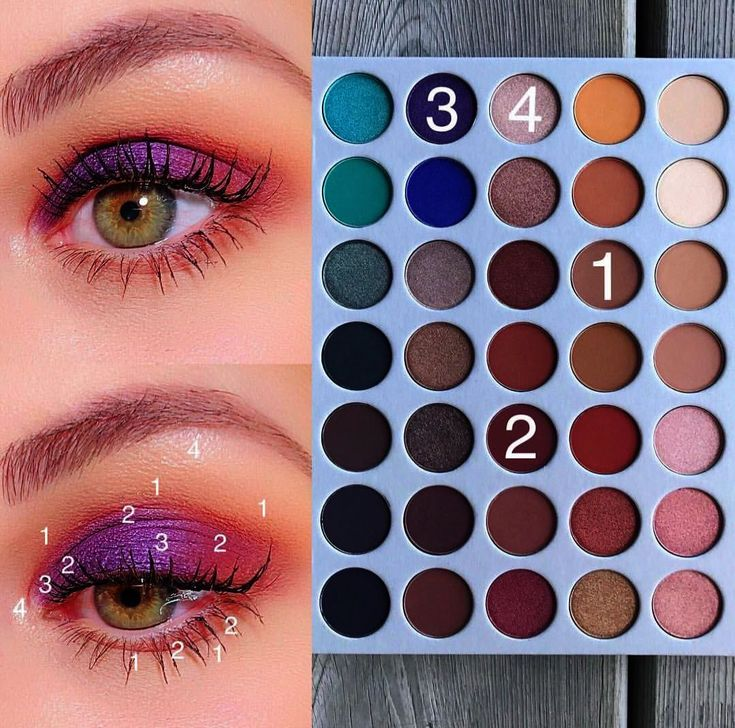 Makeup Revolution Game Of Mystery, Christmas Eyeshadow