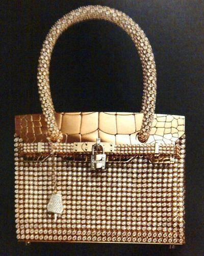 Hermès Jewellery bag entirely made of diamonds and gold :) - Imgend