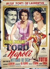 L'oro di Napoli, 1954.