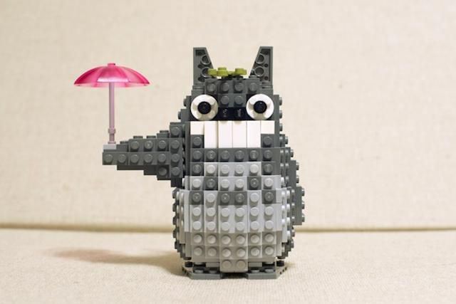 14 Anime LEGO Sets that Need to be Made: Studio Ghibli's My Neighbor Totoro LEGO Set