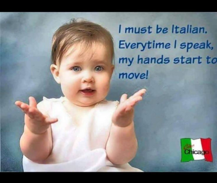 Funny Italian ~ yes, the hands