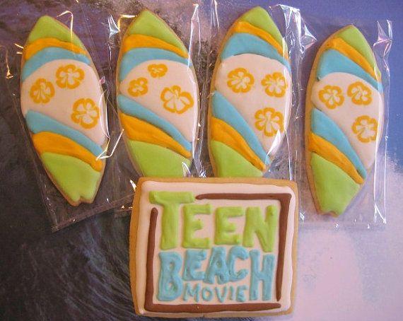 Teen Beach sugar cookies