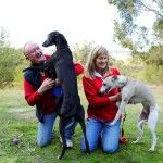 Your hosts! Paul and Julie....... Kennels in Victoria, homely and personal touch, dogs loved and cared for.