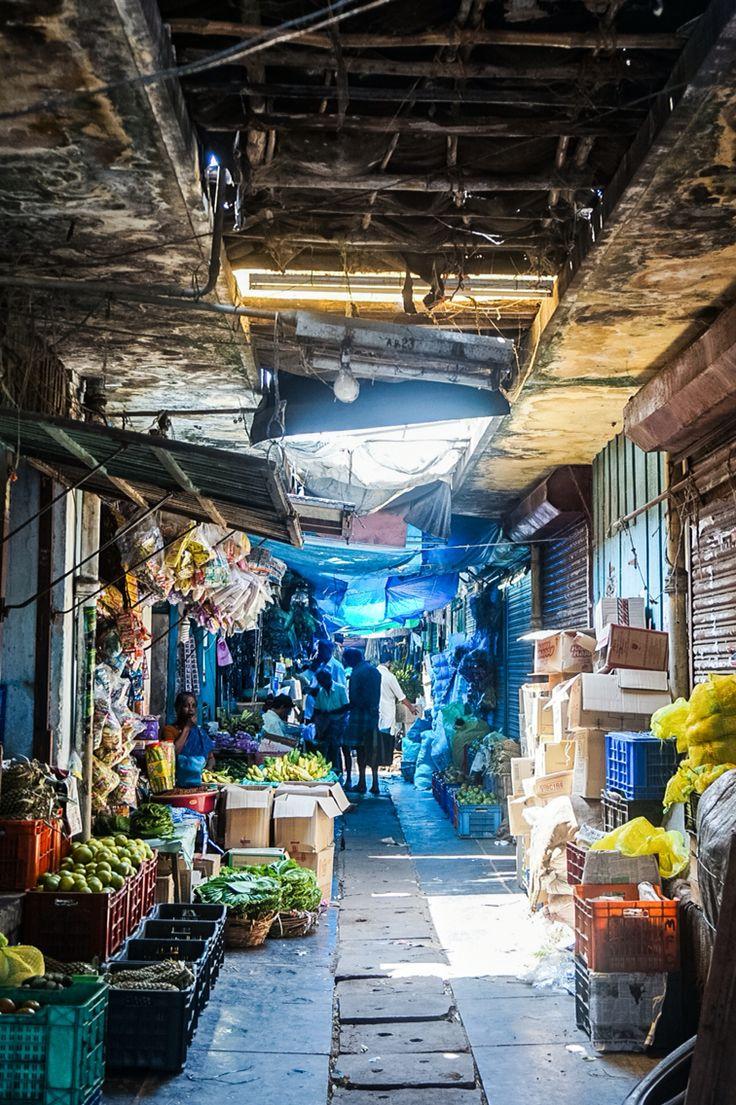 Grand Bazaar, Pondicherry, Southindia