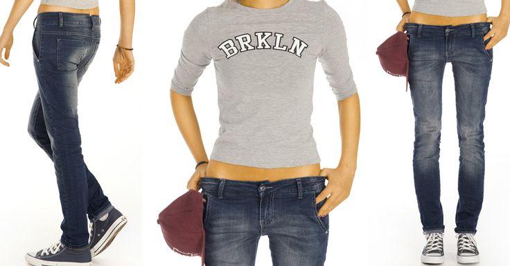 RegularFit Jeans http://www.bestyledberlin.de/index.php/damen-bekleidung/jeans/regular-fit-jeans/basic-damen-jeans-klassische-slim-fit-hose-j26i.html