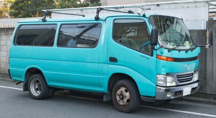 If I ever get a van, it's going to be this one. Toyota Dyna.