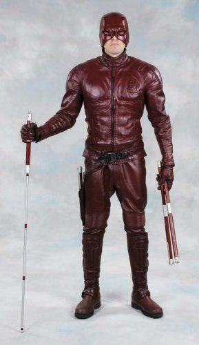 "Want to dress up as Daredevil or Superman for Halloween 2008? Do you have like...hmm let's see, ~$70,000? That's the money you'll need to get yourself the real deal!    These are incredible auctions that will be available on eBay.    The Daredevil costume at www.profilesinhistory.com    Ben Affleck ""Daredevil"" hero costume from Daredevil.  (TCF, 2003) The avenger of justice's costume consists of a custom blood-red leather jacket with ""DD"" insignia and interior padding, custom matching…"