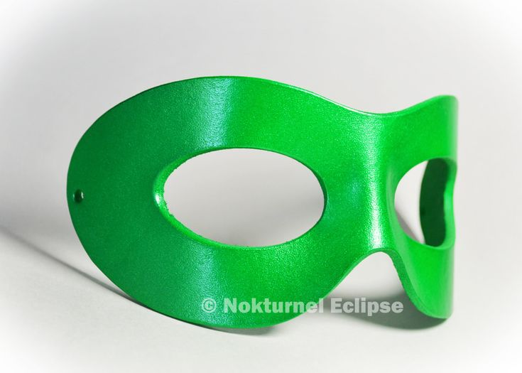 Green Leather Superhero Mask Unisex Riddler Harley Quinn Masquerade Ball Lantern Robin Cosplay Halloween Costume - AVAILABLE In ANY COLOR by NokturnelEclipse on Etsy