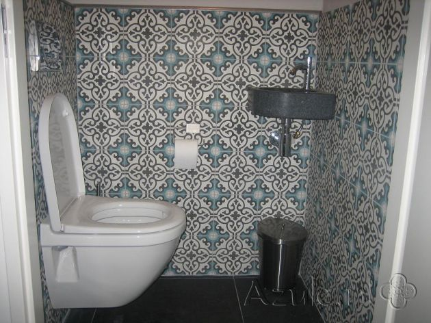 17 best images about cement tiles toilet on pinterest. Black Bedroom Furniture Sets. Home Design Ideas