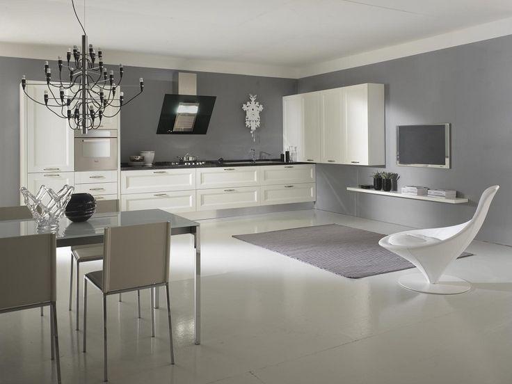 Cucinesse cucina moderna angel contrasti armonici for Cucina moderna contemporanea