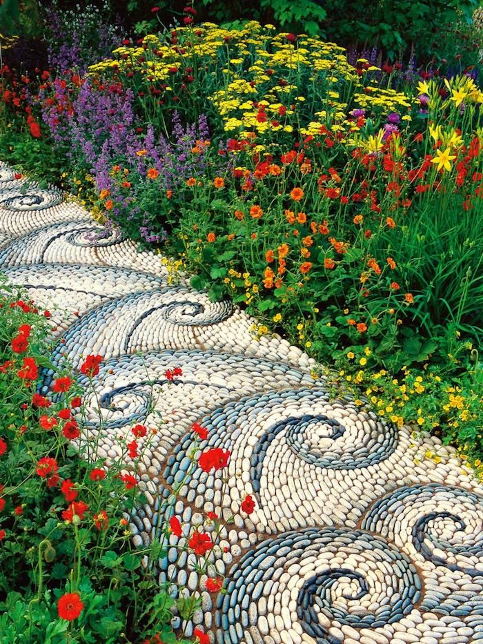 617 best jardinage images on pinterest for Idee deco parterre jardin