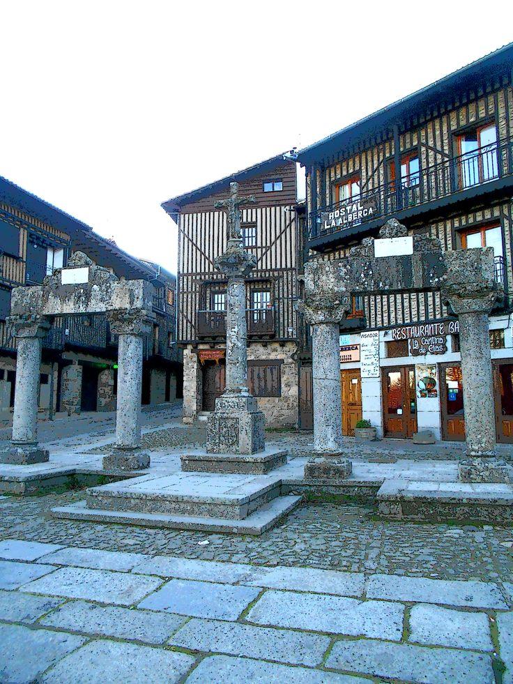 La Plaza del Padre Arsenio a primeros de diciembre
