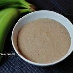 Jamaican Green Banana Porridge Recipe (video) - I LOVE this stuff!!! Can't wait to make it...