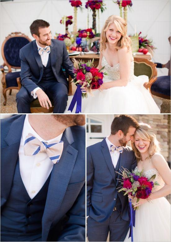 blue three piece suit for groom #groom #groomattire #weddingchicks http://www.weddingchicks.com/2014/02/21/jewel-wedding-ideas/