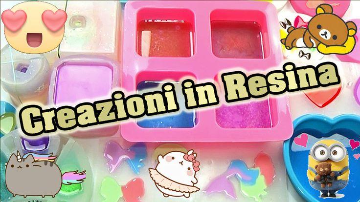 Scopriamo Le Tante Nuove Creazioni In RESINA #22 ✿  Sito ResinPro : http://www.epoxyresin-online.com/ Negozio Stampi PolyRCreations: https://www.etsy.com/it/shop/PolyRCreations Guarda il video qui: https://youtu.be/XZaNCxV-KKg