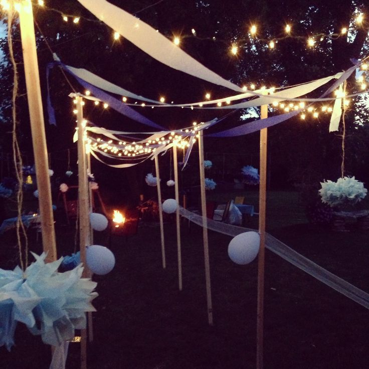 Outdoor Decorations For Baby Shower