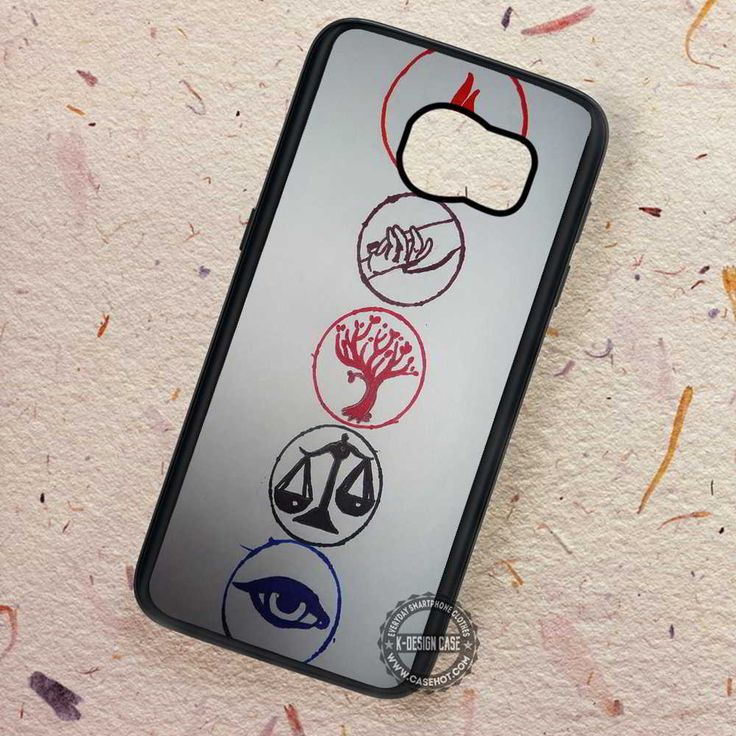 Divergent Faction Symbols Brave - Samsung Galaxy S7 S6 S5 Note 7 Cases & Covers
