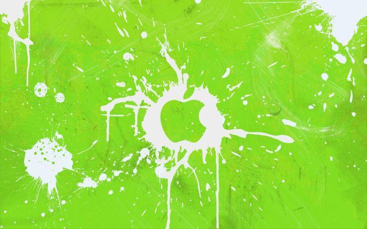 bureaublad achtergronden - Kleurrijke Apple-logo: http://wallpapic.nl/computer-en-technologie/kleurrijke-apple-logo/wallpaper-11939