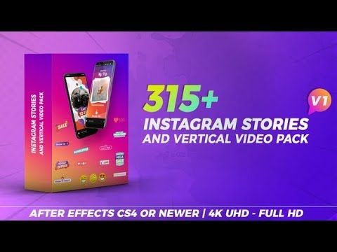 Instagram Stories & Vertical Video Pack (Videohive After