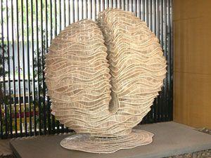 amazing bamboo sculpture!