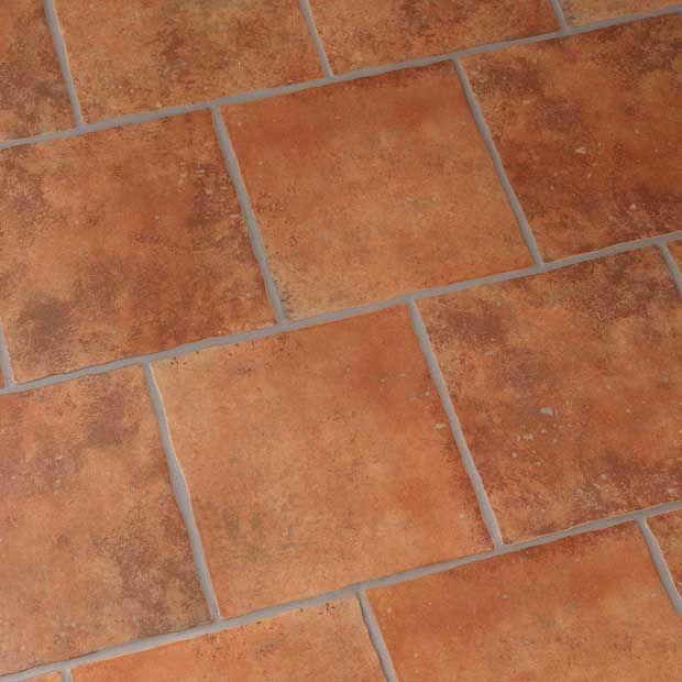Carrelage tarascon pour sol int rieur lapeyre obj b for Carrelage terre cuite rouge