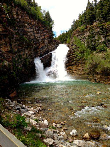 Cameron Falls, Waterton Park, Alberta, Canada