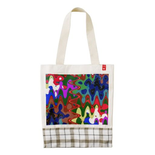 HEART Tote Artistic Graphic Abstract Unique style