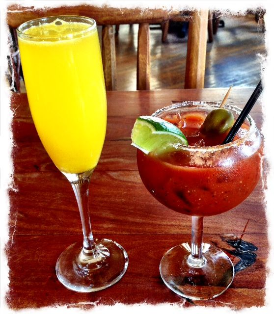 Saturday brunch: Serious food & half priced bloody marys and mimosas until 2pm. See y'all soon!  www.Liberty-Bar.com