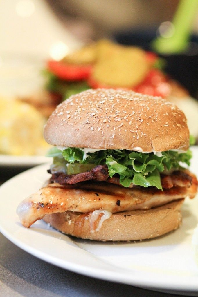Memphis Grilled Chicken Sandwiches from Pidge's Pantry