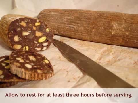 Thermomix Chocolate Salami Recipe
