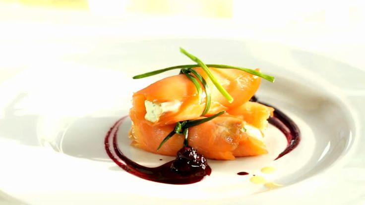 Involtini di salmone con crema di formaggio fresco – Alice.tv