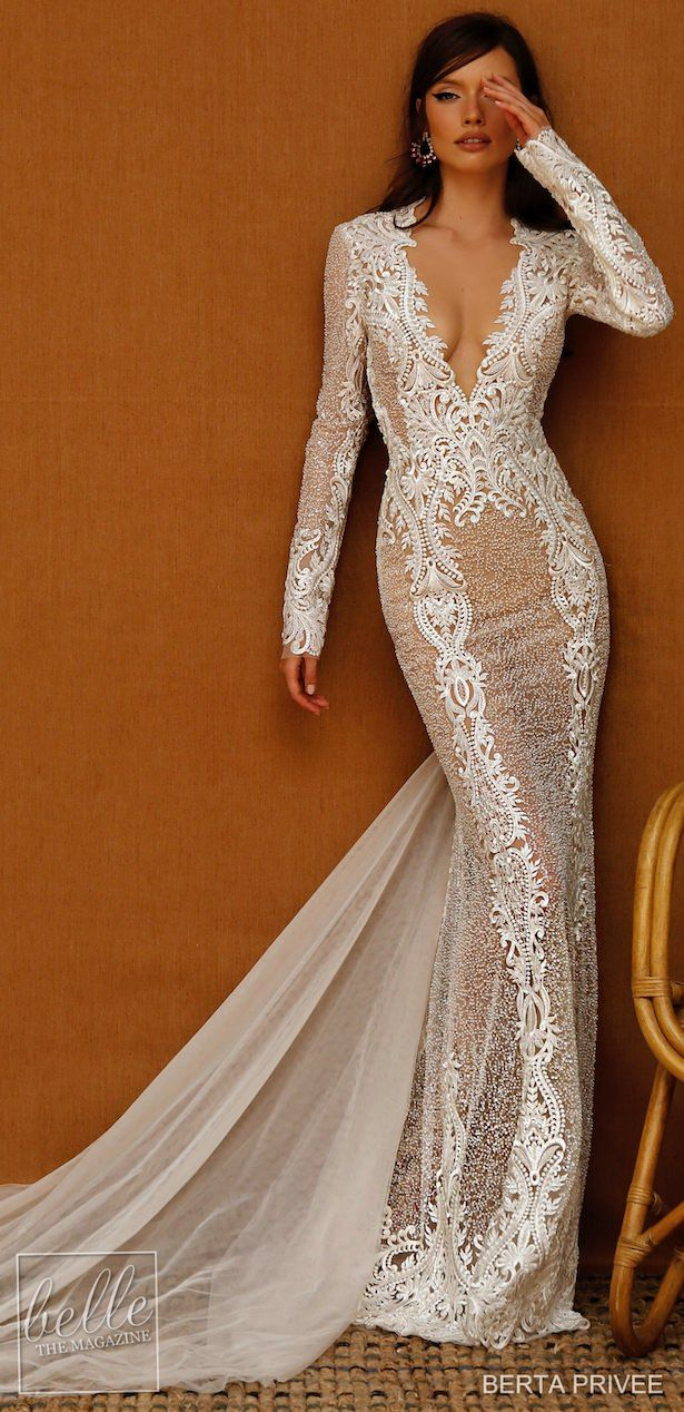 Berta Privee Wedding Dresses Spring 2021 Collection In 2020 Fitted Wedding Dress Dresses Indian Bridal Dress,Wedding Party Wear Dresses For Teenage Girls