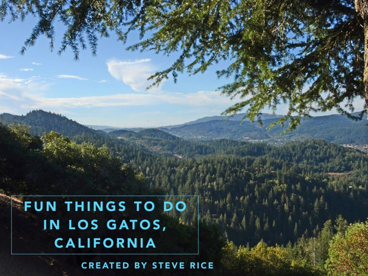 Steve Rice Los Gatos shares fun things to do in Los Gatos California