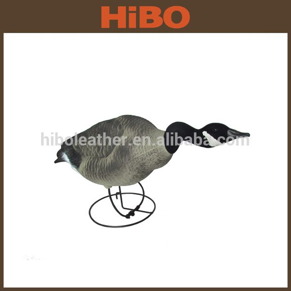 Decorative Duck Decoy for Sale / Plastic duck Decoys With Iron Hoop Pedestal For Hunting Mallard Duck Decoys