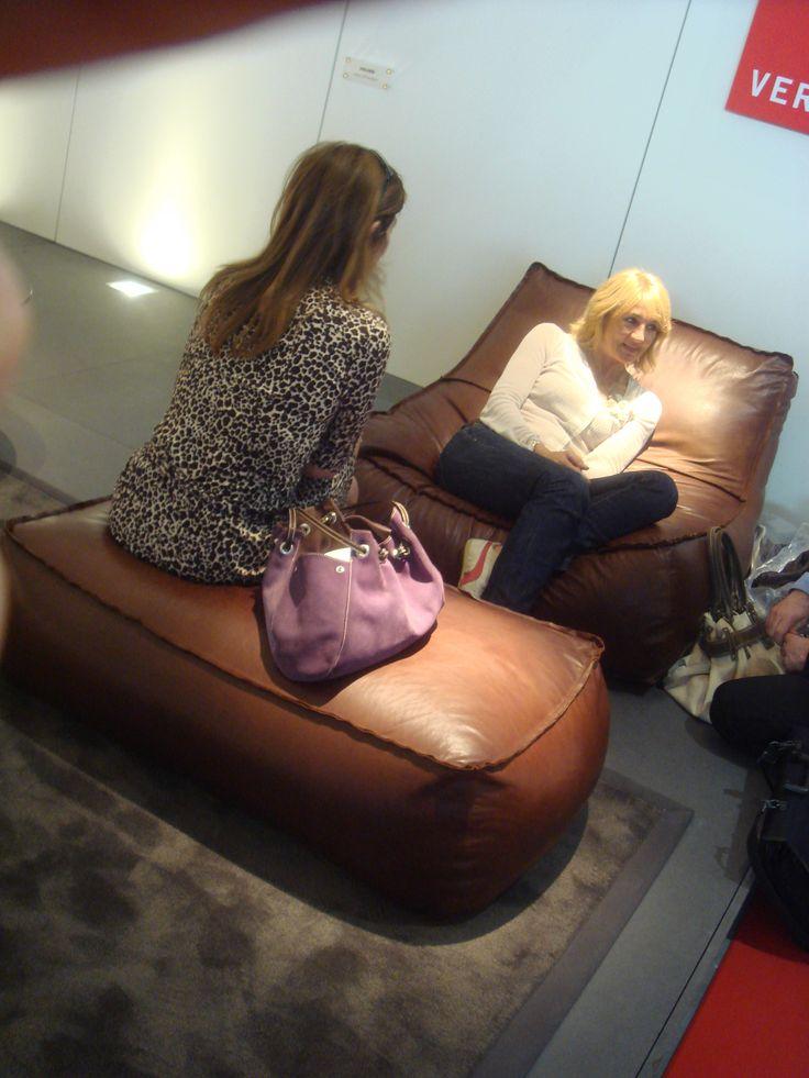 Leather Zoe at Salone del Mobile 2007