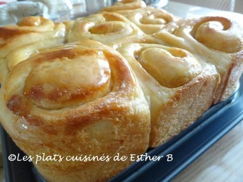 Brioche au caramel - Esther b