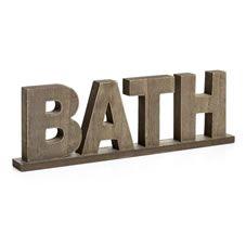 Wilko Bath Ornament Wooden