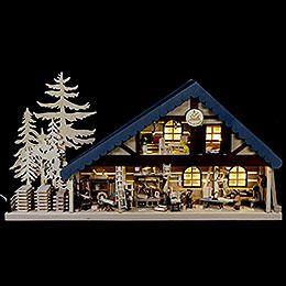 Lichterhaus - eine wunderschöne Weihnachtstradition aus Deutschland