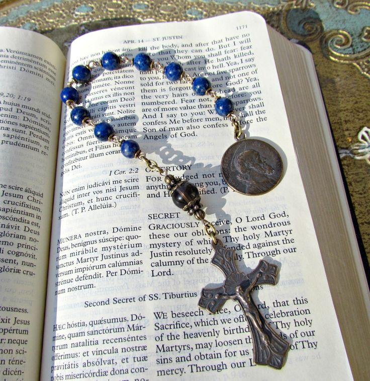 Handmade One decade Rosary Tenner Chaplets, Rosary Beads