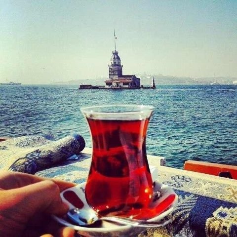 Drink a turkish tea by the Bosphorus. | #GlobalLife2014
