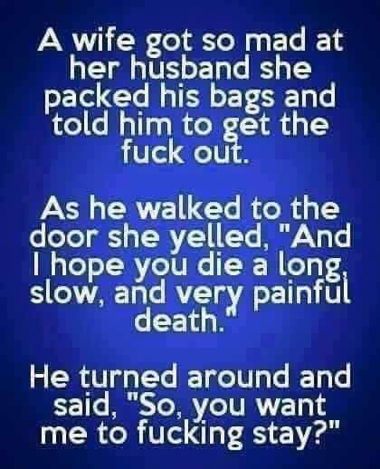 Funny man and wife jokes - http://jokideo.com/funny-man-and-wife-jokes/
