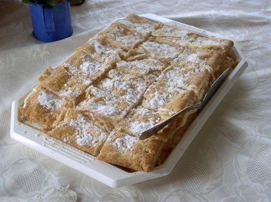 Ванильные пирожные в глазури