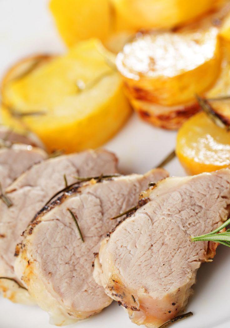 Roasted Pork Tenderloin and Garlic Recipe