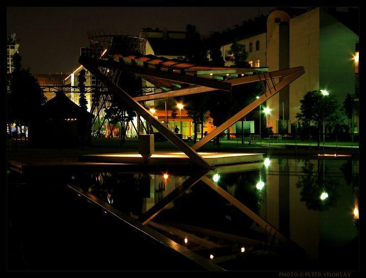 Millenáris Park, event, exibition and concert hall complex, Budapest, Hungary
