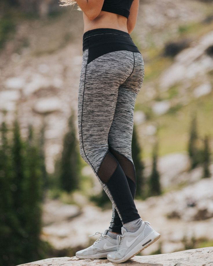 NEW {Pacesetter Mesh Tech Leggings} - check out the details on these beautiful leggings | @albionfit