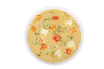 Egyptian Red Lentil Vegetable Soup from #YummyMarket