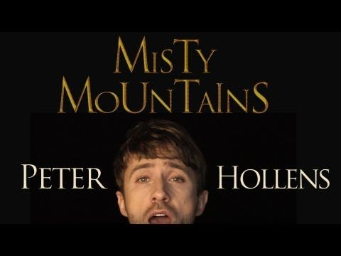 misty mountain hobbit song sung by one guy