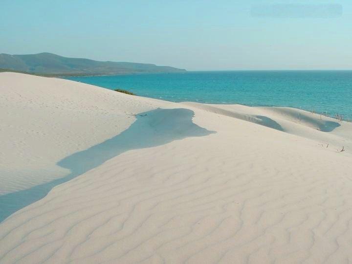 Dune di Porto Pino Sant'Anna Arresi, Sardegna, Sardinia